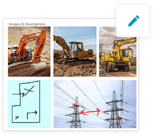 GoFormz makes it easy to include inspection sketches and images in your mobile inspection forms