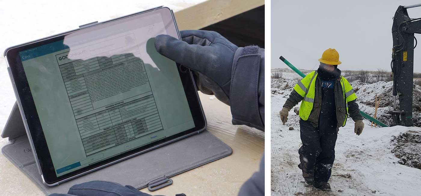 North American Pipeline Inspections uses mobile forms to empower their business